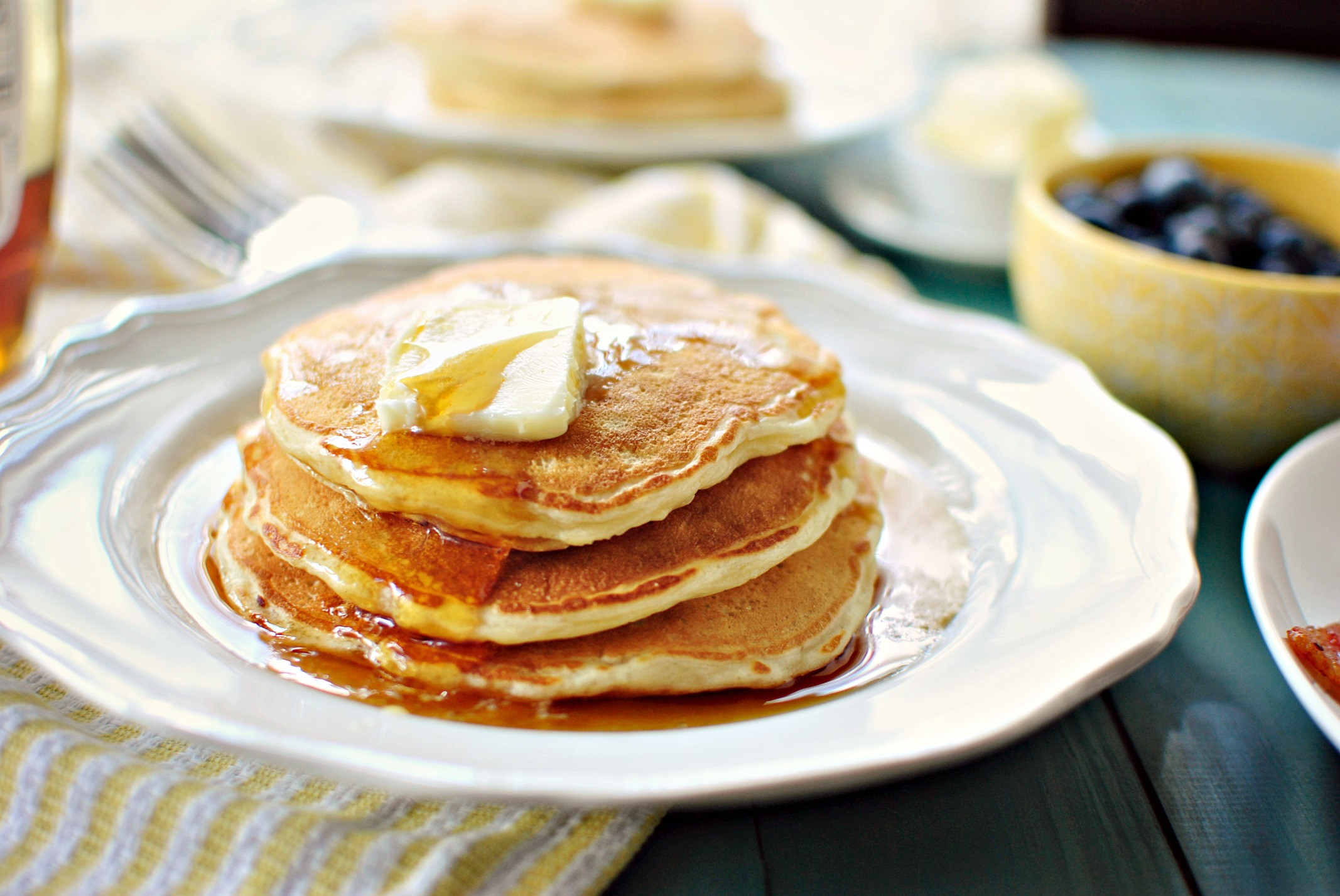 How To Make Buttermilk Pancakes  Simply Scratch Perfect Buttermilk Pancakes Simply Scratch