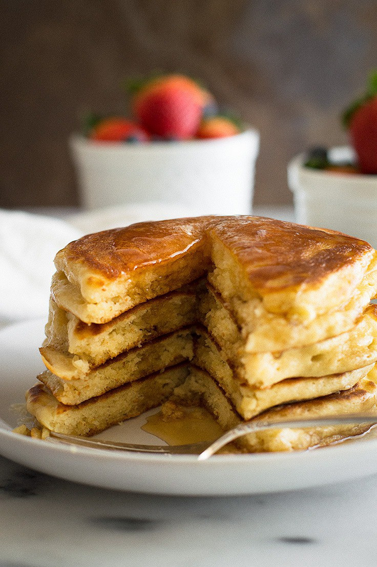 How To Make Buttermilk Pancakes  How to Make Fluffy Buttermilk Pancakes for Two Baking