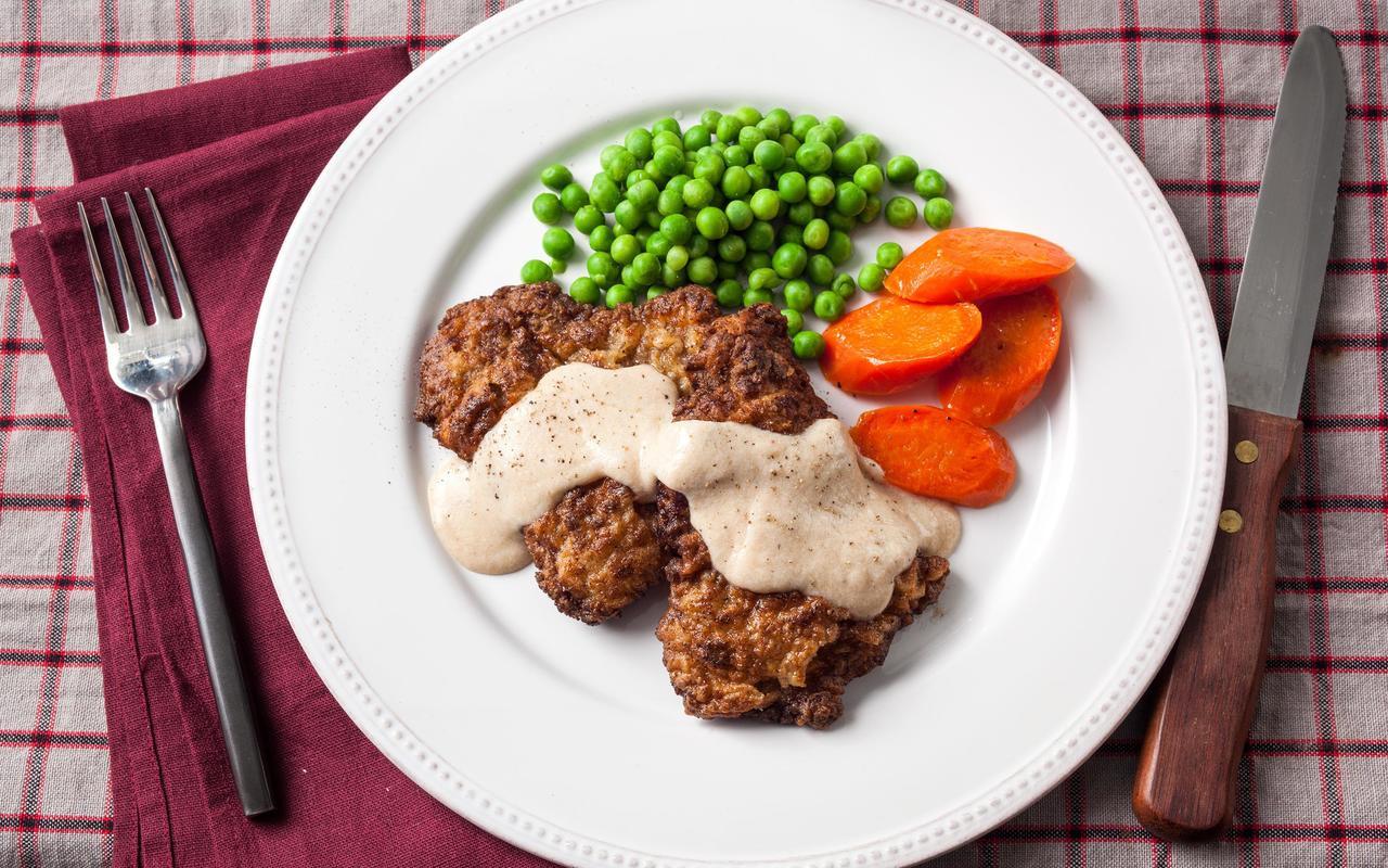 How To Make Chicken Fried Steak  Chicken Fried Steak with Country Gravy Recipe Chowhound