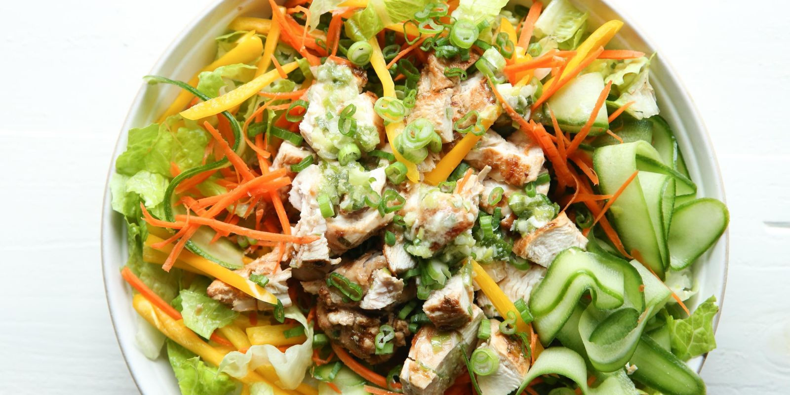How To Make Chicken Salad  Best Asian Chicken Salad Recipe—How To Make Asian Chicken