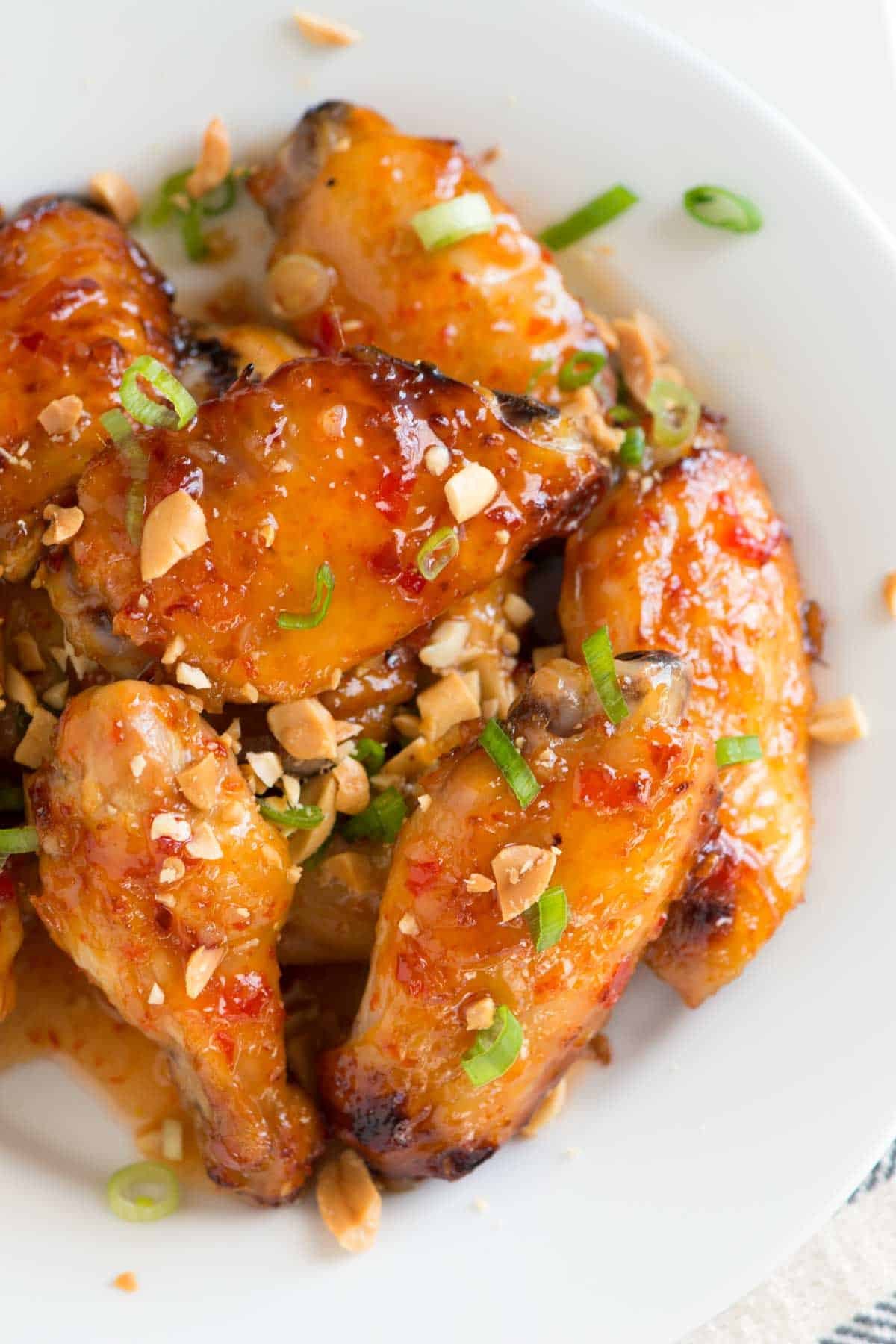 How To Make Chicken Wings  Sweet Chili Baked Chicken Wings Recipe