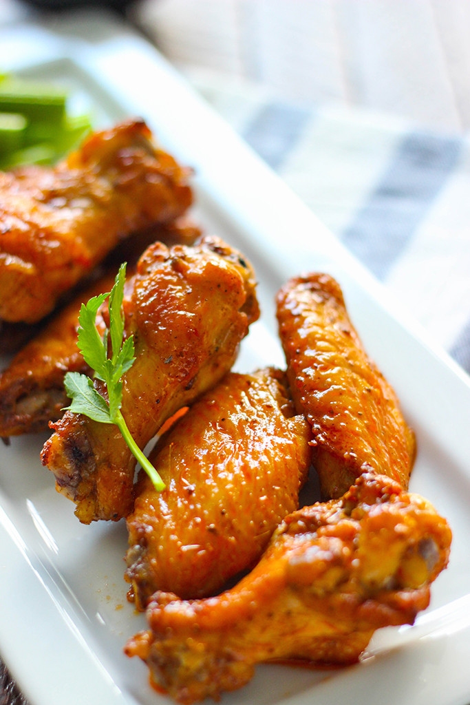 How To Make Chicken Wings  Oven Baked Old Bay Buffalo Wings The Cooking Jar
