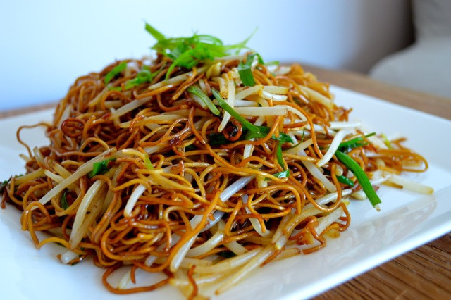 How To Make Chinese Noodles  How to Cook Chinese Noodles or Regular Pasta with Soy Sauce