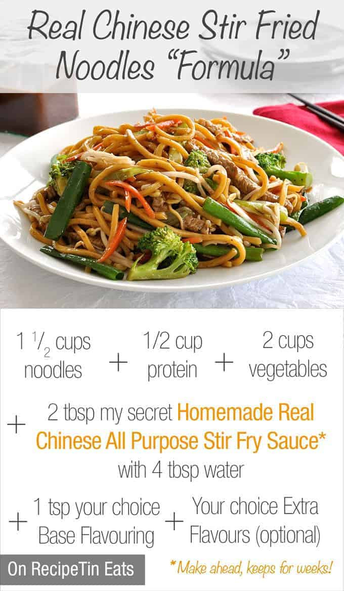 How To Make Chinese Noodles  Real Chinese All Purpose Stir Fry Sauce