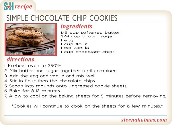 How To Make Chocolate Chip Cookies  Simple Chocolate Chip Cookies