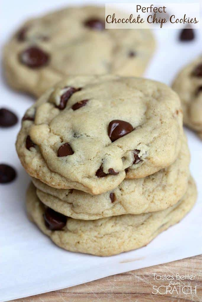How To Make Chocolate Chip Cookies From Scratch  Perfect Chocolate Chip Cookies Tastes Better From Scratch
