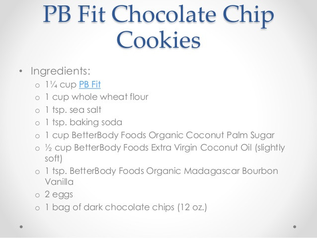 How To Make Chocolate Chip Cookies  How to Make PB Fit Chocolate Chip Cookies