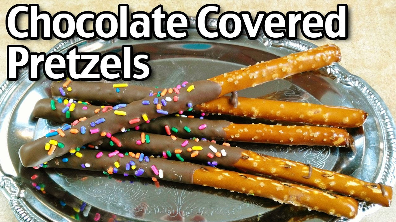 How To Make Chocolate Covered Pretzels  How To Make Chocolate Covered Pretzels
