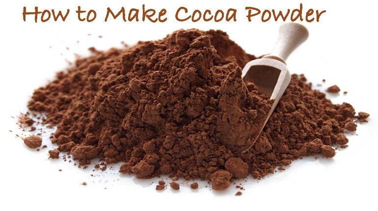 How To Make Chocolate From Cocoa Powder  how to make dark chocolate from cocoa powder