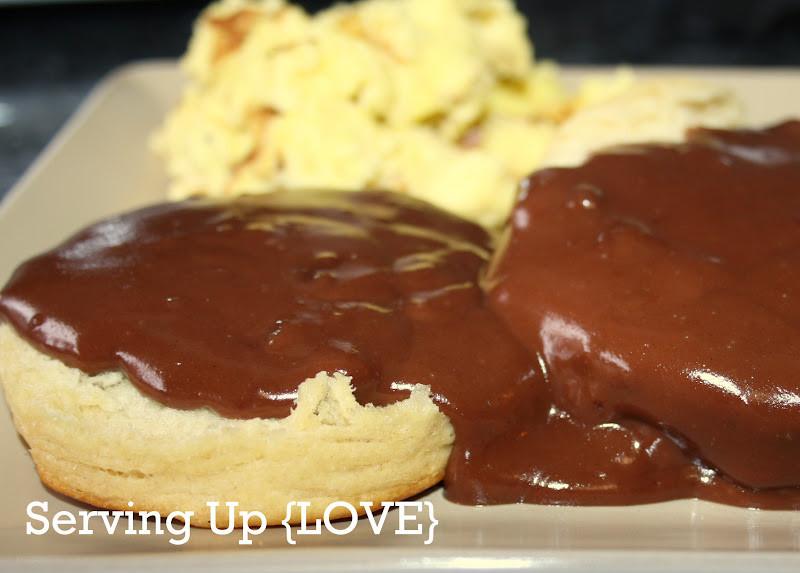 How To Make Chocolate Gravy  Katherine s Kitchen Serving Up Breakfast Chocolate