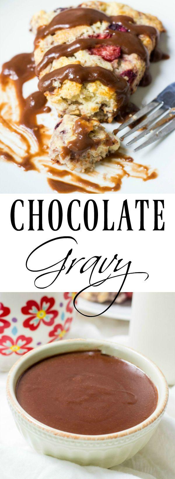 How To Make Chocolate Gravy  Chocolate Gravy Recipe