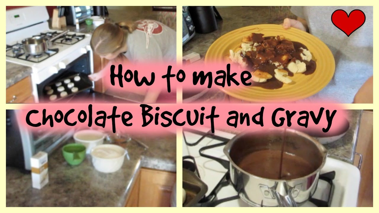 How To Make Chocolate Gravy  How To Make Chocolate Biscuit and Gravy