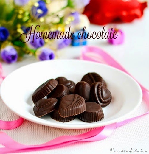 How To Make Chocolates With Cocoa Powder  EASY HOMEMADE CHOCOLATE RECIPE WITH COCOA POWDER HOW TO