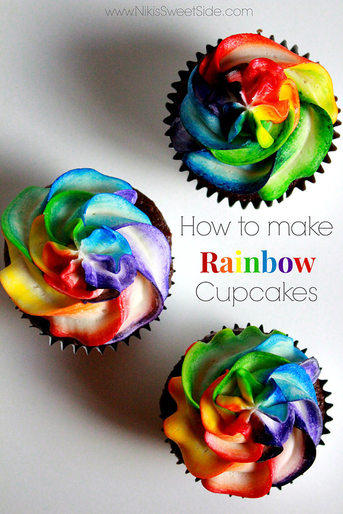How To Make Cupcakes  10 Awesome Rainbow Party Recipes For Kids Mum s Pantry