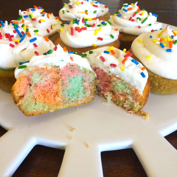 How To Make Cupcakes From Scratch  How to Make Psychedelic Tie Dye Cupcakes From Scratch