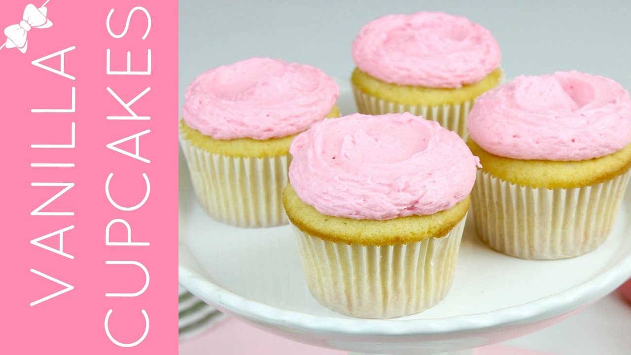 How To Make Cupcakes From Scratch  How To Make THE BEST Easy Vanilla Cupcakes from Scratch