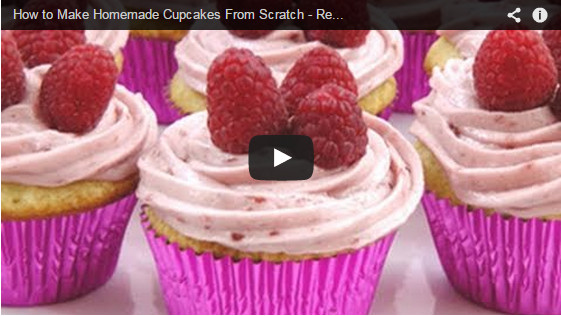 How To Make Cupcakes From Scratch  How to Make Homemade Cupcakes From Scratch