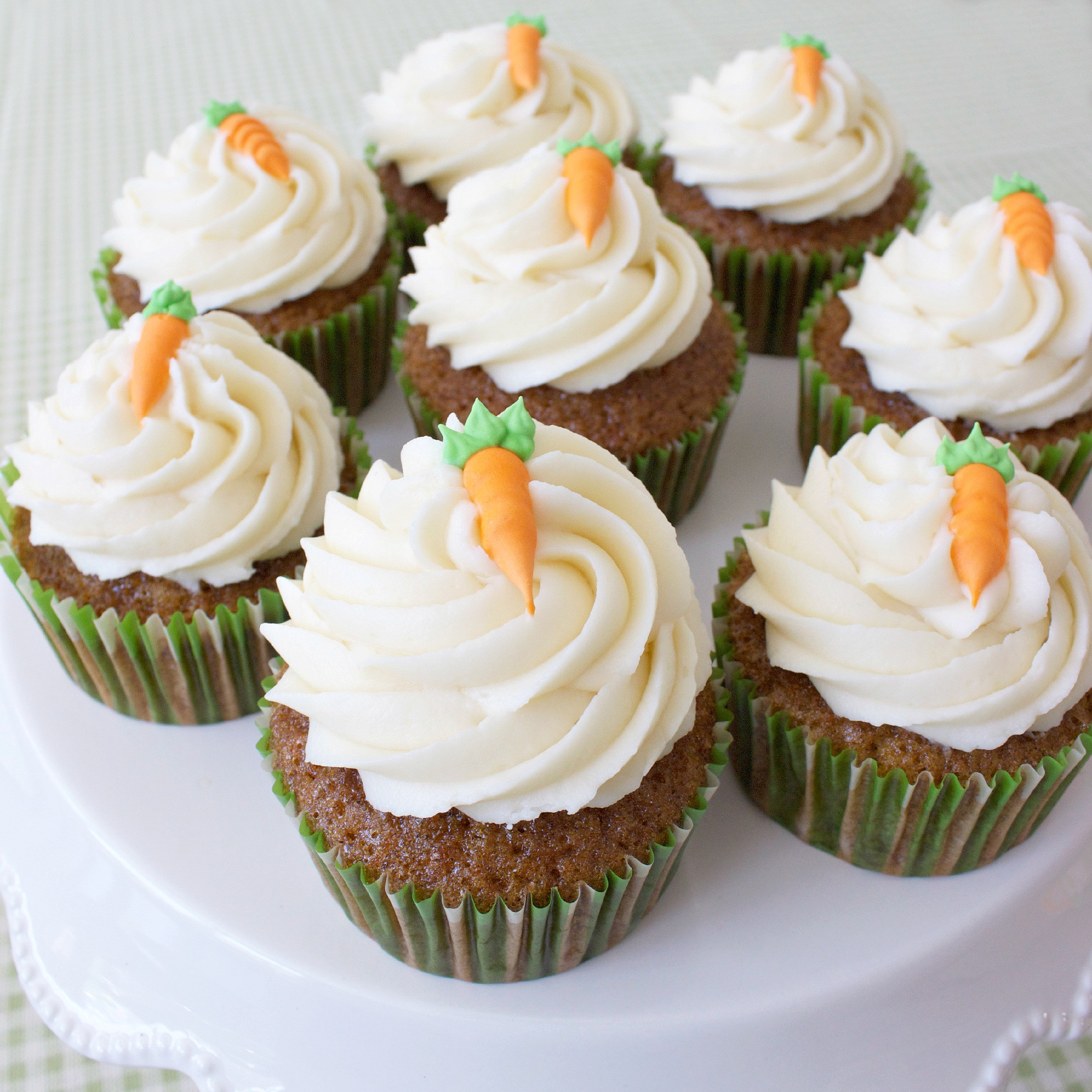 How To Make Cupcakes  Royal Icing Carrots