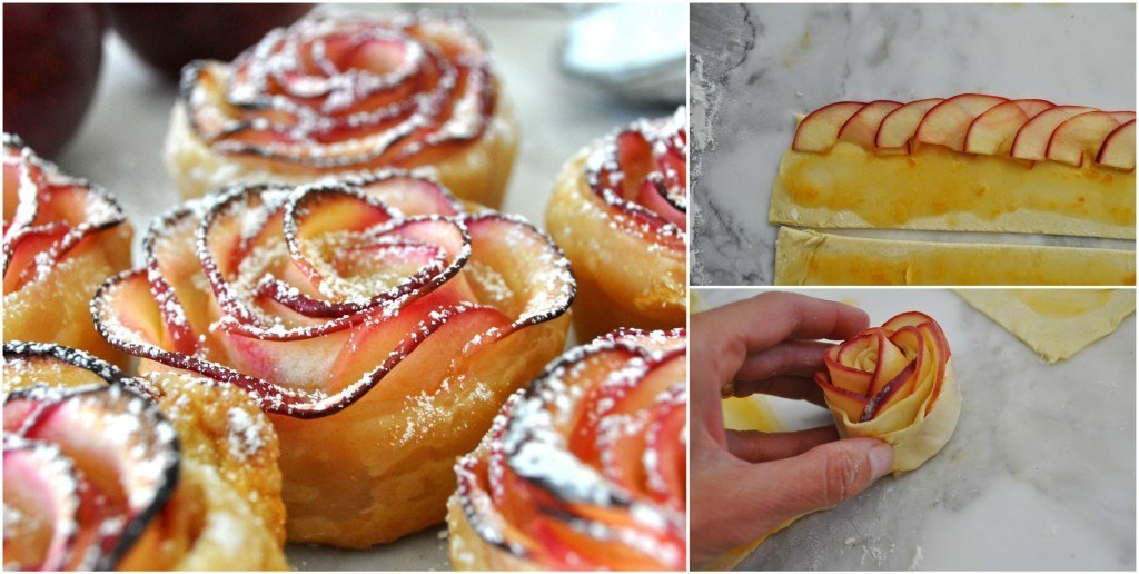 How To Make Desserts  How to Make Beautiful Baked Apple Roses for Dessert