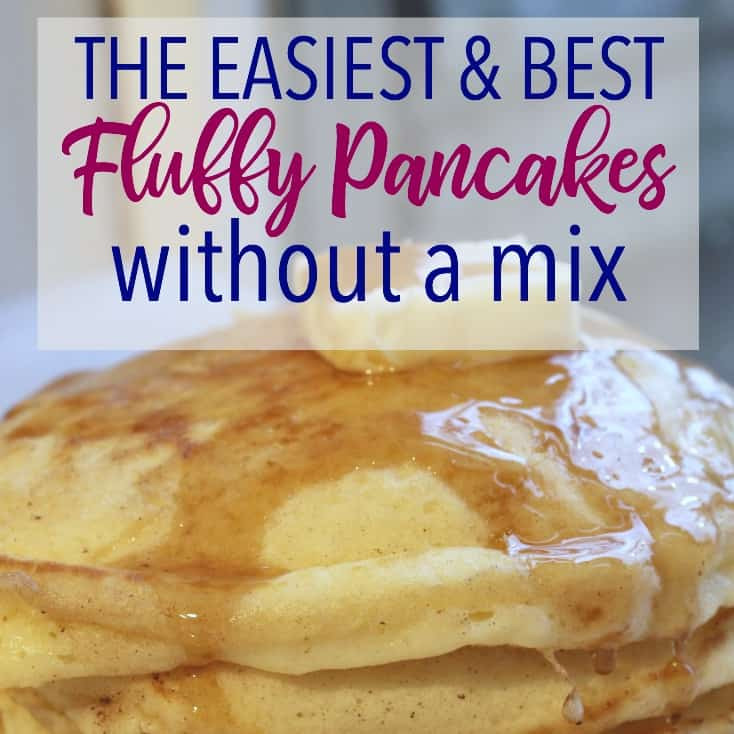 How To Make Fluffy Pancakes From A Box  Better Than the Box How to Make Fluffy Pancakes Margin