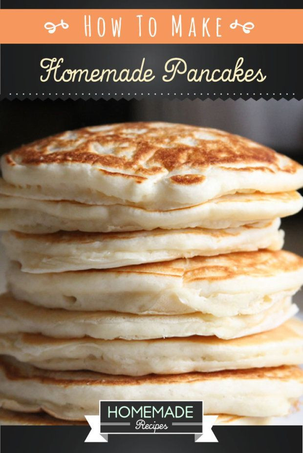 How To Make Fluffy Pancakes From A Box  Easy Homemade Pancake Recipe You ll Love