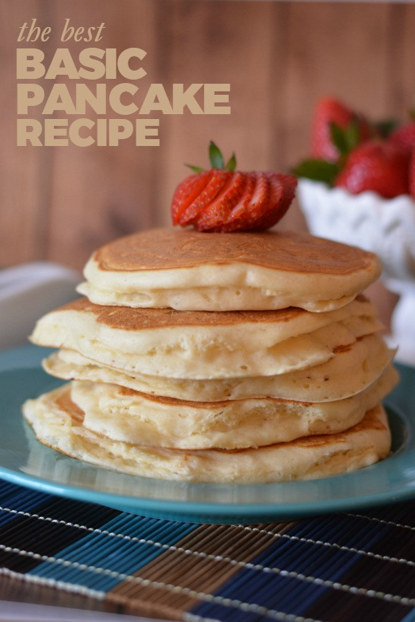 How To Make Fluffy Pancakes From A Box  The BEST Pancake Recipe