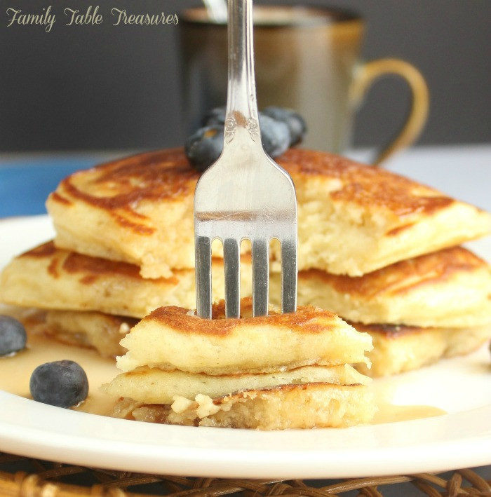 How To Make Fluffy Pancakes From A Box  Easy Fluffy Pancake Recipe from Scratch Family Table