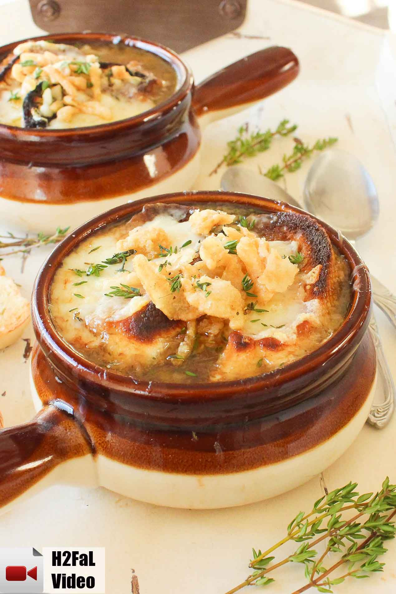 How To Make French Onion Soup  French ion Soup How To Feed A Loon