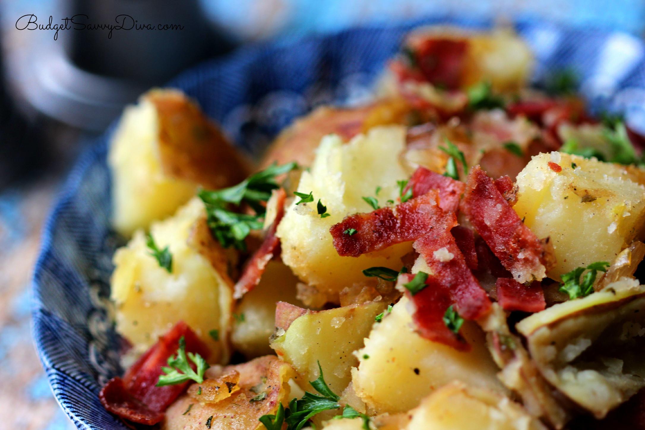 How To Make German Potato Salad  German Potato Salad Recipe