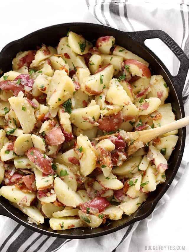 How To Make German Potato Salad  German Potato Salad Bud Bytes