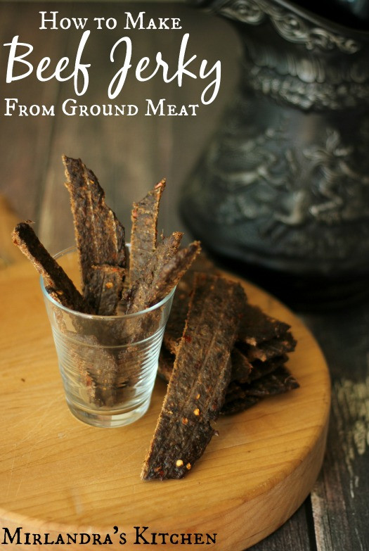 How To Make Ground Beef  How to make Beef Jerky from Ground Meat including Wild