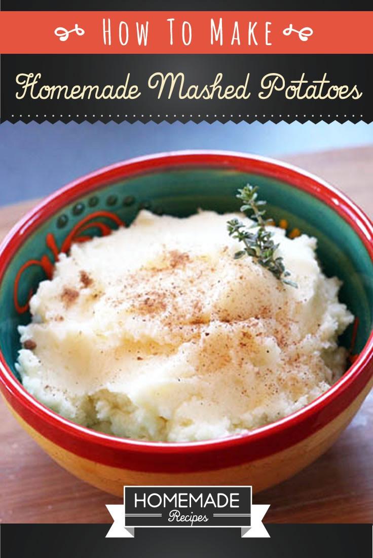 How To Make Homemade Mashed Potatoes  How To Make Homemade Mashed Potatoes