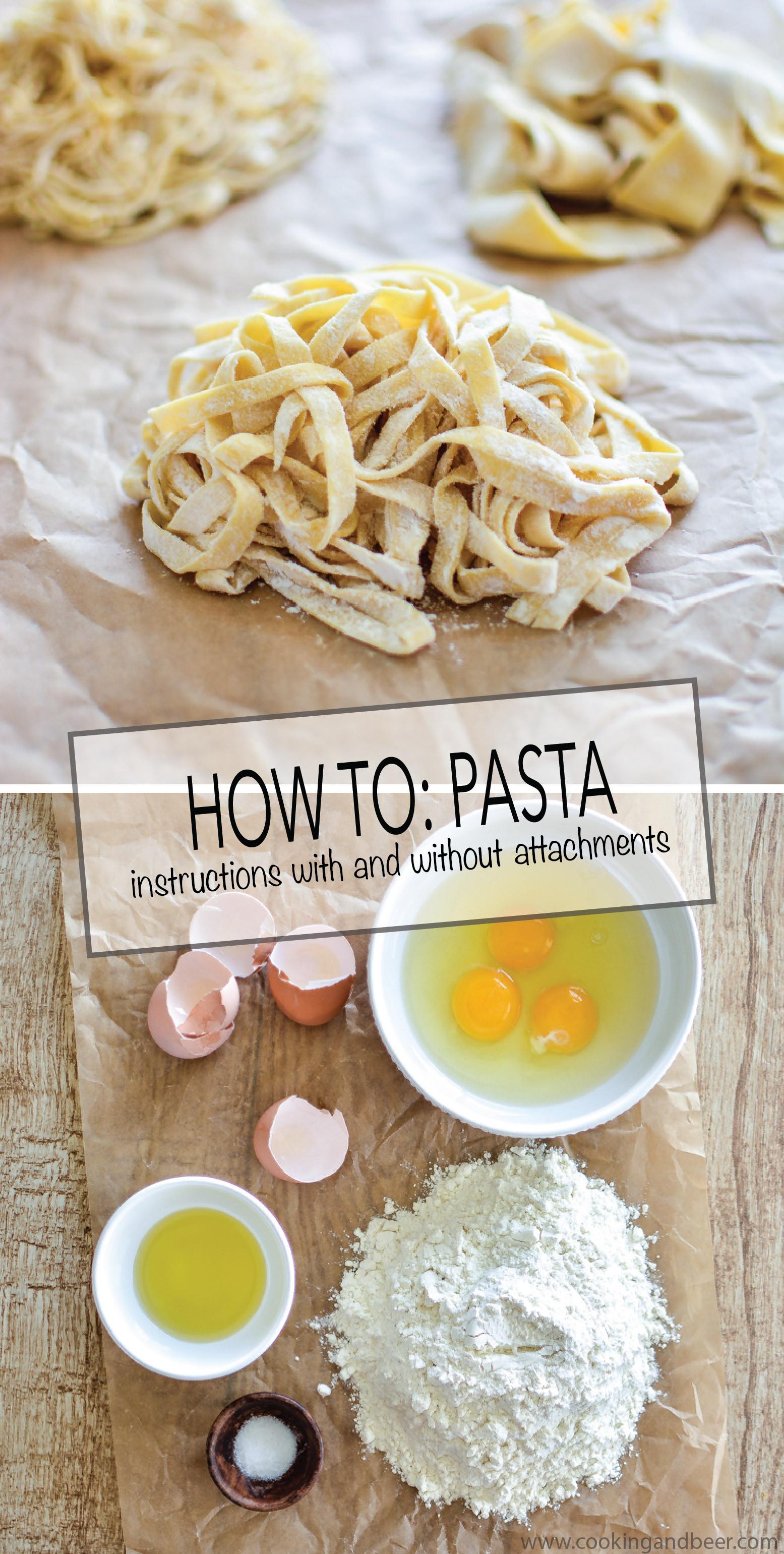 How To Make Homemade Pasta  HOW TO Fresh Homemade Pasta