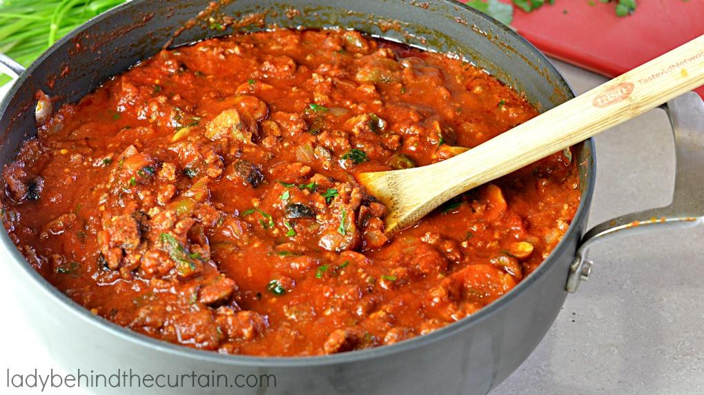 How To Make Homemade Pasta Sauce  Easy Homemade Spaghetti Sauce