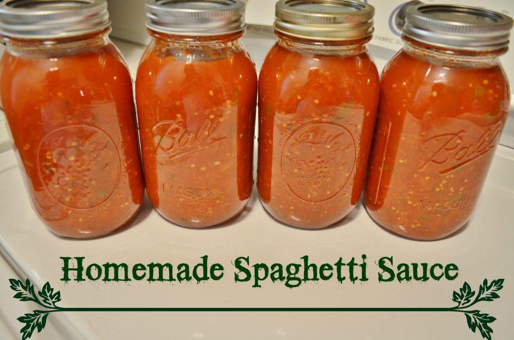 How To Make Homemade Pasta Sauce  DIY Homemade Spaghetti Sauce Canning Recipe Tutorial