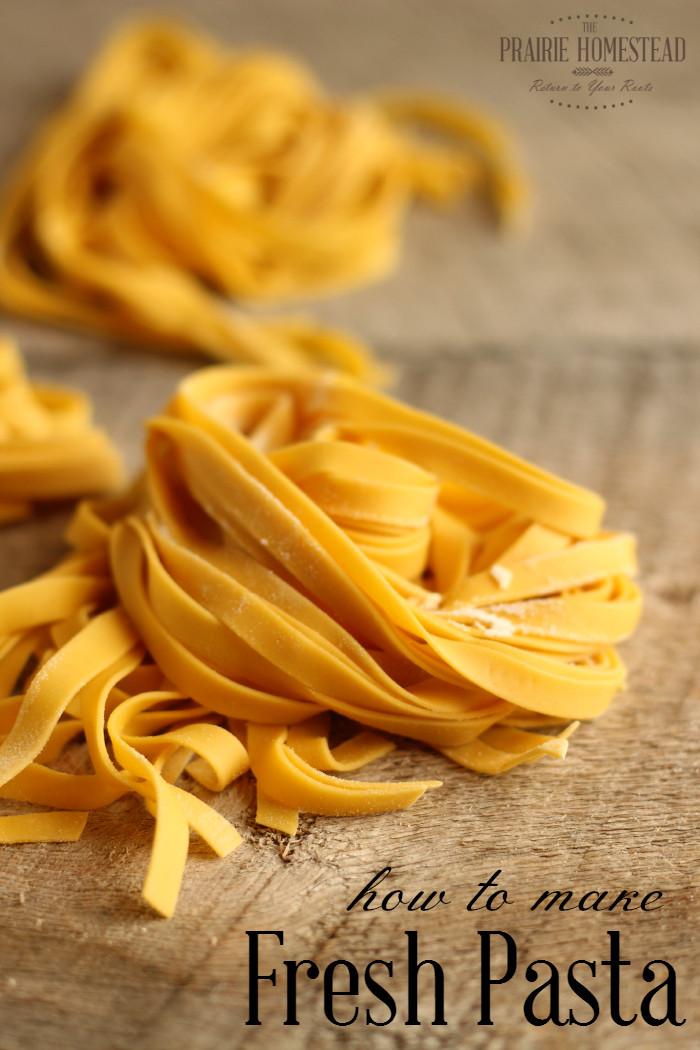 How To Make Homemade Pasta  Homemade Pasta Recipe