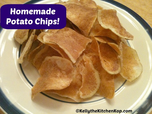 How To Make Homemade Potato Chips  How to Make Homemade Potato Chips