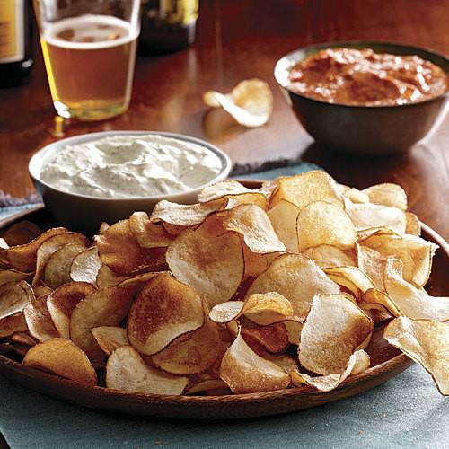 How To Make Homemade Potato Chips  How to Make Homemade Potato Chips FineCooking