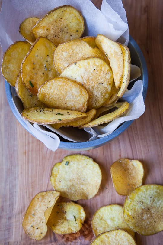 How To Make Homemade Potato Chips  How to Make Potato Chips Homemade Potato Chips