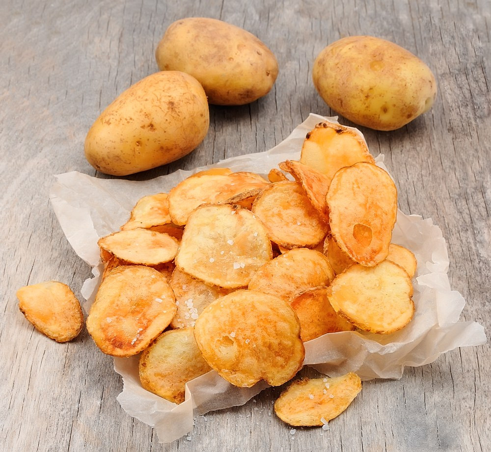 How To Make Homemade Potato Chips  My Homemade Potato Chips recipe