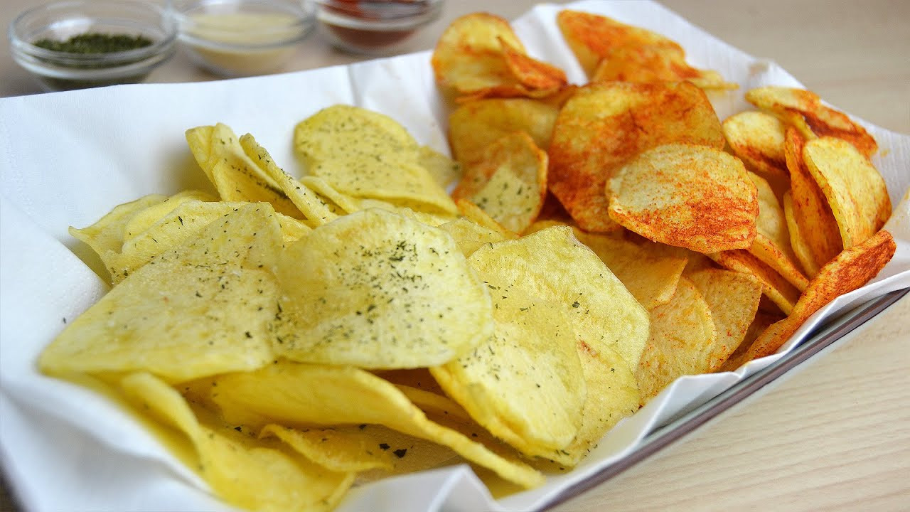 How To Make Homemade Potato Chips  How to Make Potato Chips Easy Homemade Potato Crisps
