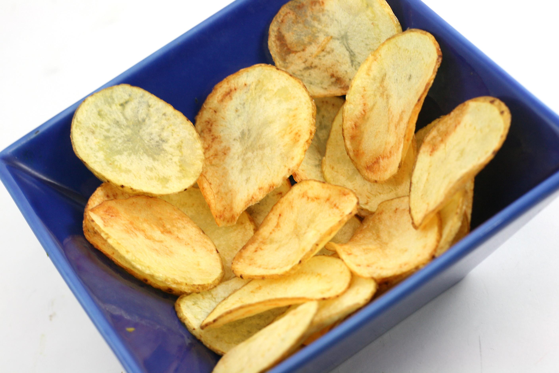 How To Make Homemade Potato Chips  How to Make Potato Chips Using Safflower Oil 7 Steps