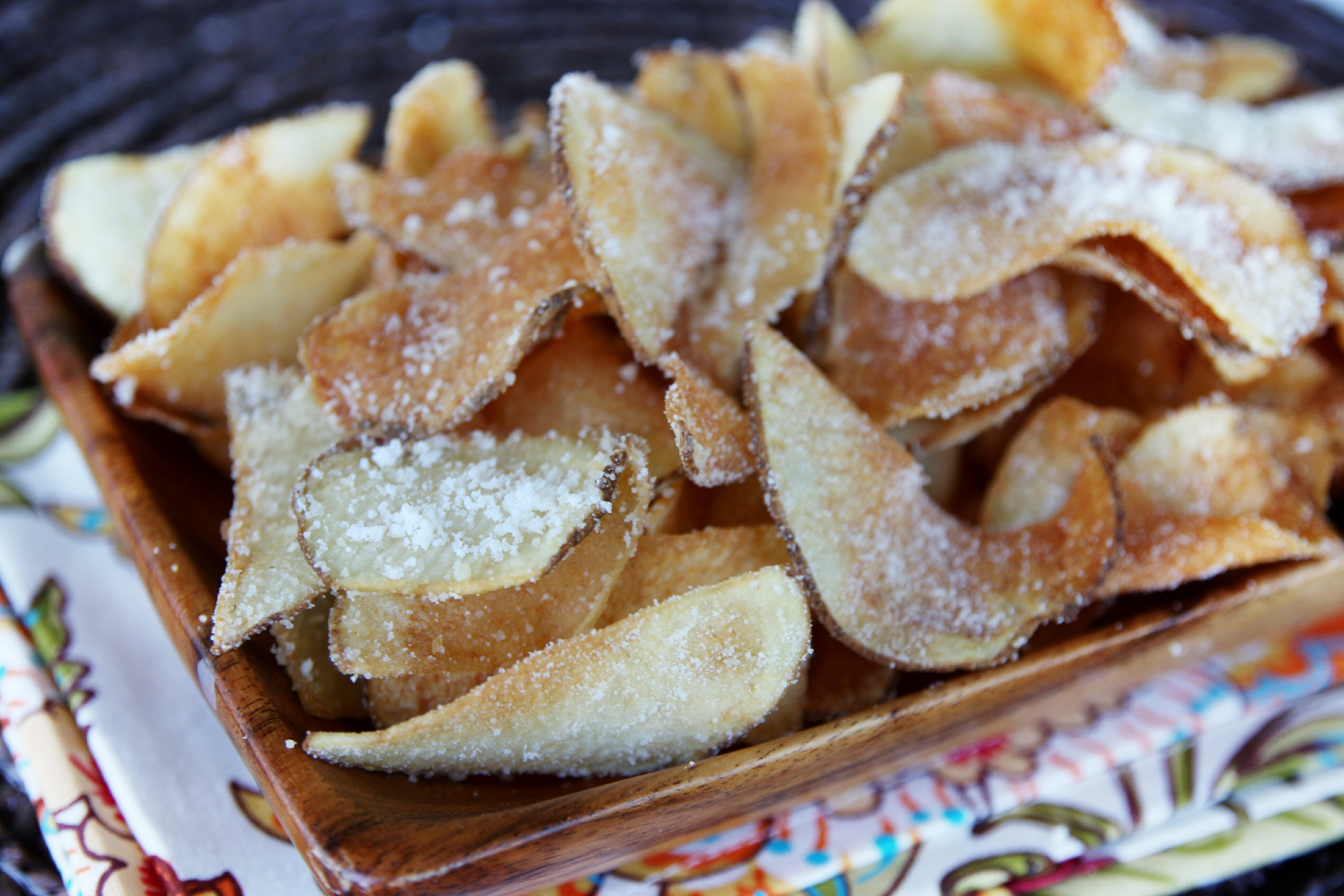 How To Make Homemade Potato Chips  Homemade Potato Chips Our Best Bites