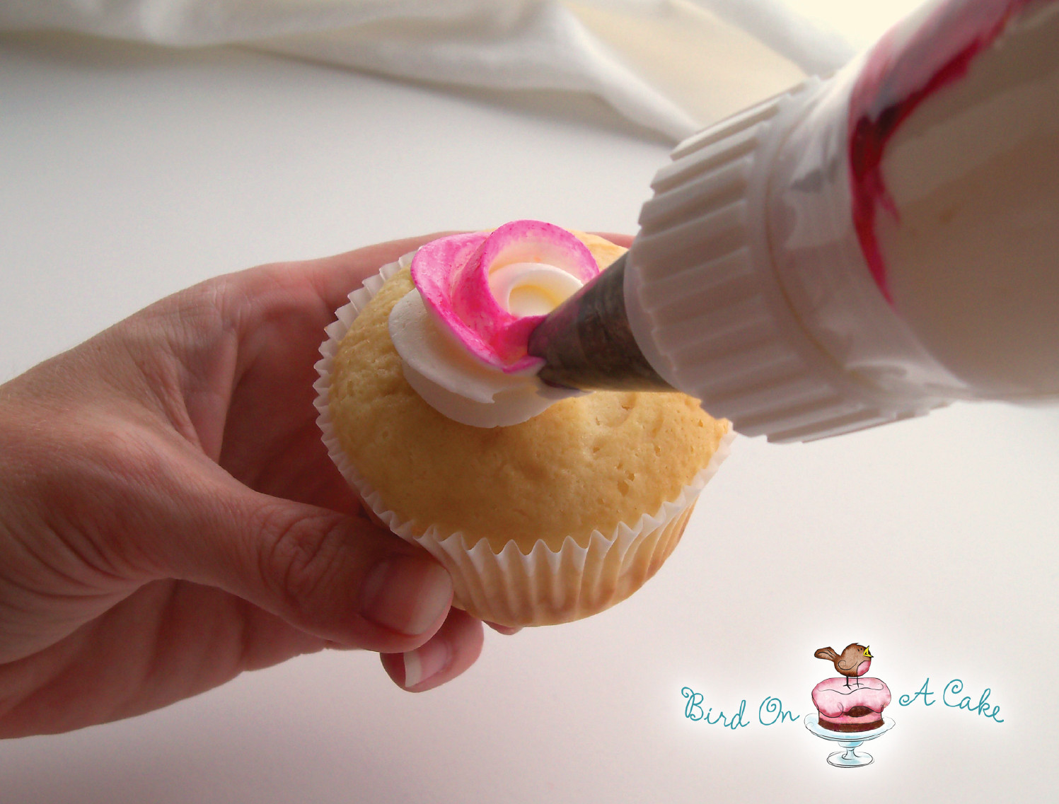 How To Make Icings For Cupcakes  Bird A Cake Perfectly Packaged Rose Cupcakes