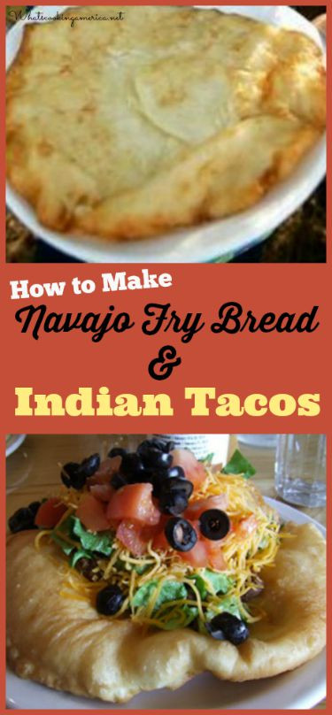 How To Make Indian Fry Bread  Indian Fry Bread and Indian Taco Recipe Whats Cooking America
