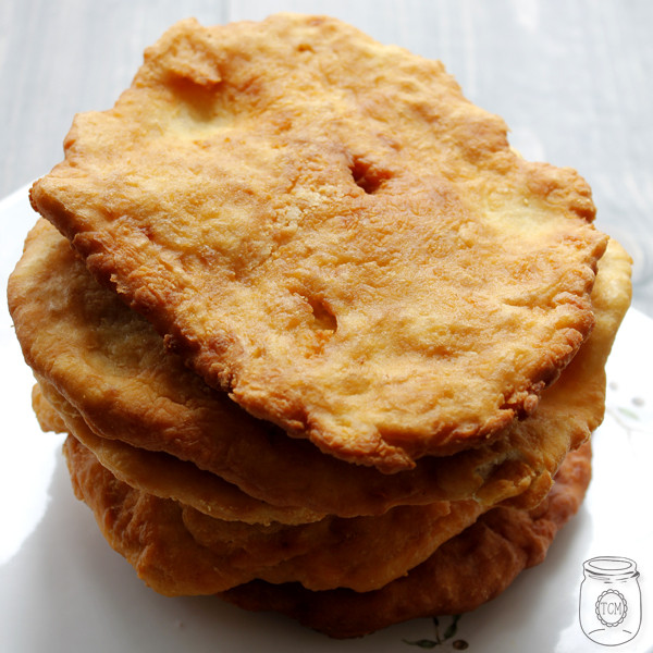 How To Make Indian Fry Bread  Navajo Tacos with Homemade Indian Fry Bread a healthy meal