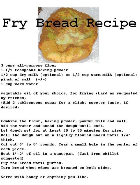 How To Make Indian Fry Bread  Fried bread recipe Breakfast