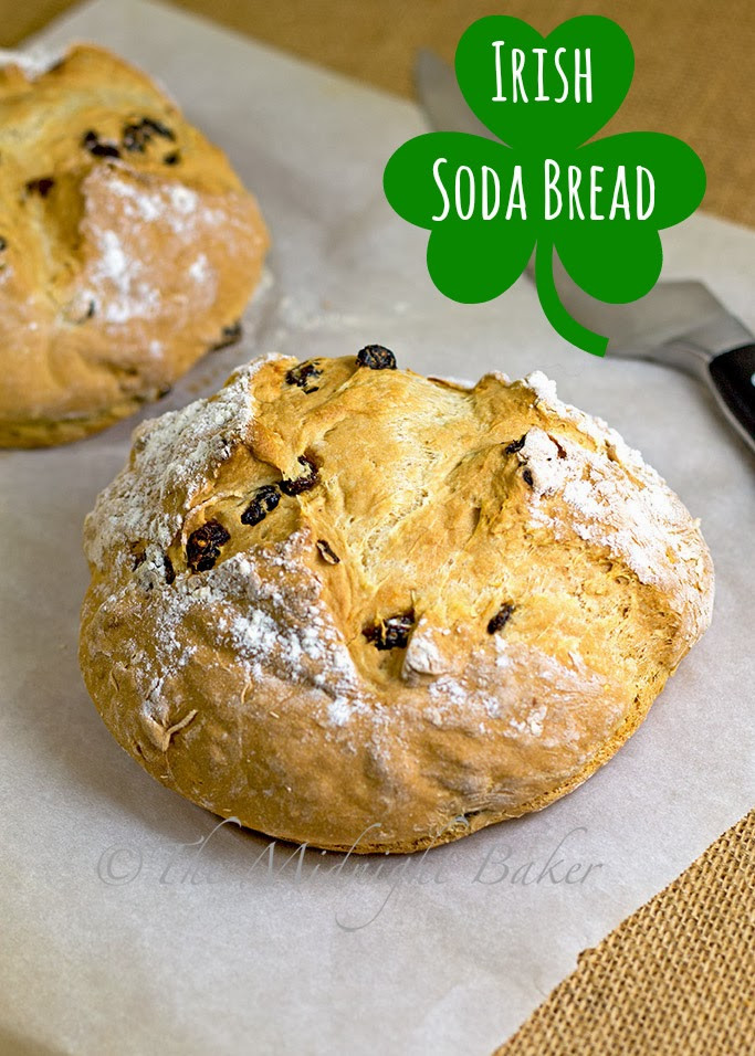 How To Make Irish Soda Bread  Easy Irish Soda Bread The Midnight Baker