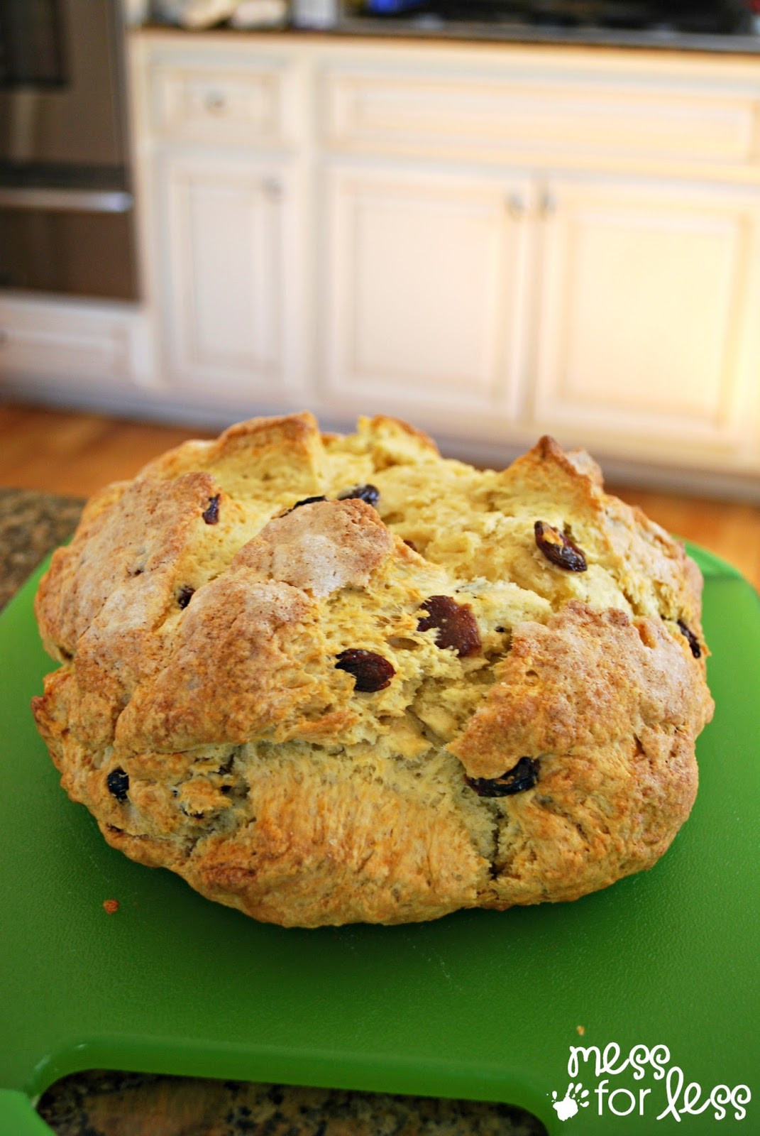 How To Make Irish Soda Bread  Irish Soda Bread Recipe Food Fun Friday Mess for Less