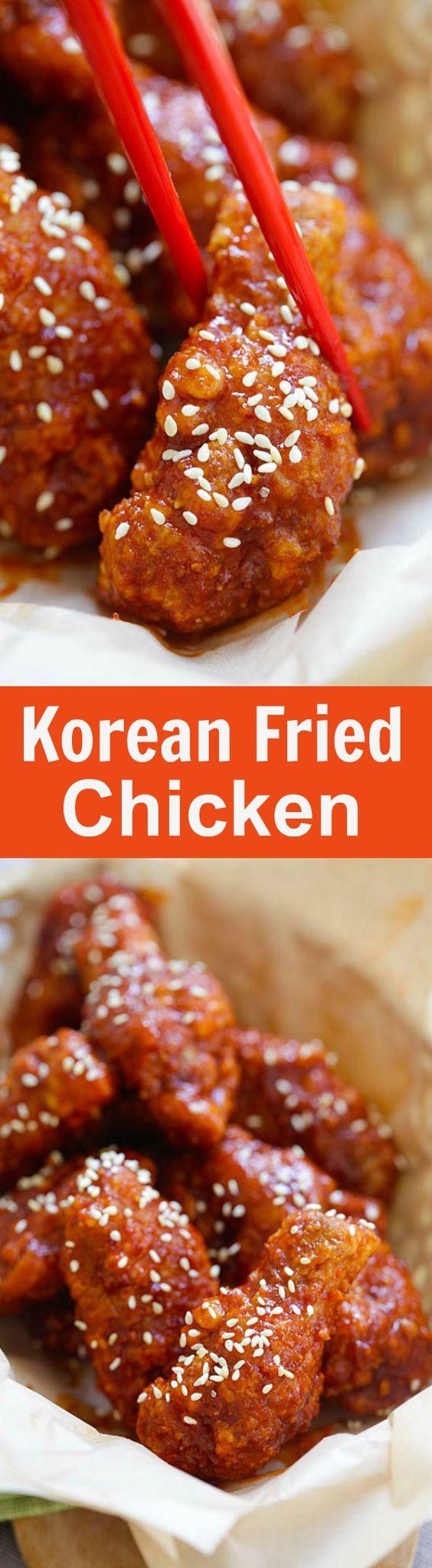 How To Make Korean Fried Chicken  Korean Fried Chicken The BEST Recipe